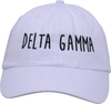 Jagged Font Hat - delta gamma image 2