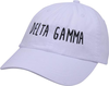 Jagged Font Hat - delta gamma image 1