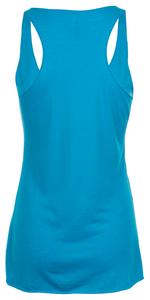 Womens Iconic Blue w/Logo Tank Top