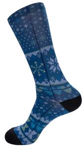 Alaska Airlines Socks Strideline Holiday