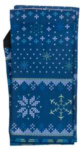 Strideline Full Sublimated Crew Socks - Holiday Design