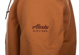 Unisex Alaska Airlines Carhartt Thermal-Lined Duck Active Jacket