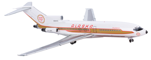 Alaska Airlines Model 1/200 scale Gemini 727-100 Golden Nugget