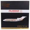 Alaska Airlines Model 1/200 scale Gemini 727-100 Golden Nugget  image 4