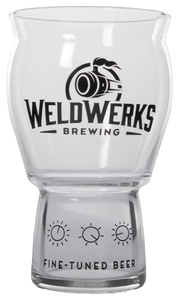 WeldWerks 16oz Rastal Craft Master Pint Glass