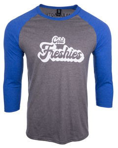 Cold Freshies Baseball Tee