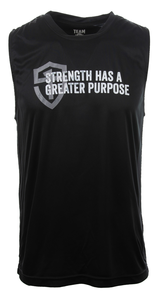 Unisex Strength Greater Purpose Muscle Shirt