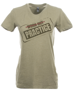 Women's Workout Practice Tee