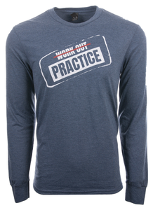 Men's Workout Practice Long Sleeve Tee
