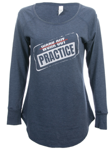 Women's Workout Practice Long Sleeve Tee