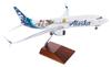 Alaska Airlines Model 1/100 scale Skymarks Supreme 737-800 Toy Story image 3