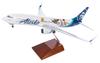 Alaska Airlines Model 1/100 scale Skymarks Supreme 737-800 Toy Story image 2