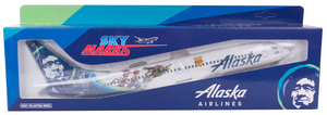 Alaska Airlines Model 1/130 scale Skymarks 737-800 Toy Story