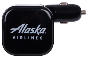 Alaska Airlines Charger Dual USB