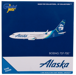 Alaska Airlines Model 1/400 scale Gemini 737-700 Standard Livery