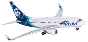 Alaska Airlines Model 1/400 scale Gemini 737-700 Standard Livery