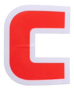 "Convoy 1.6"" x 2"" Logo Sticker"