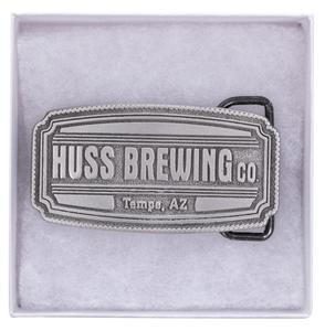 Huss Brewing Belt Buckle