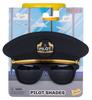 Sun Stach Pilot Cap Sunglasses image 1