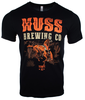 Huss Brewing Throwback Western Tee image 1