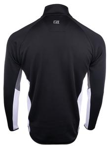 Horizon Air Sweatshirt Mens Cutter and Buck Traverse 1/2 Zip