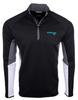 Horizon Air Sweatshirt Mens Cutter and Buck Traverse 1/2 Zip  image 1