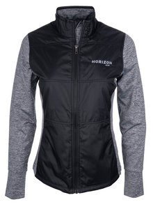 Horizon Air Jacket Ladies Cutter and Buck Stealth