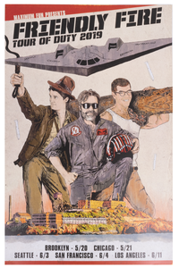 Friendly Fire Tour of Duty Poster
