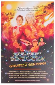 Greatest Gen Khan Tour Poster