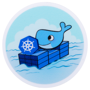 Docker Kubernetes Sticker
