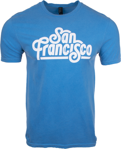 Alaska Airlines T-shirt Unisex Destination San Francisco
