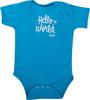 Alaska Airlines Onesie Infant Hello World image 1