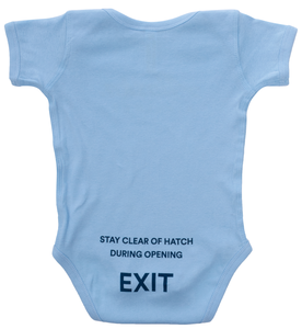 Alaska Airlines Onesie Infant Stay Clear