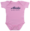 Alaska Airlines Onesie Infant Stay Clear image 1