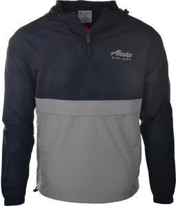 Alaska Airlines Jacket Unisex Champion Packable