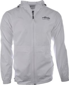 Alaska Airlines Jacket Unisex Champion Lightweight Full Zip