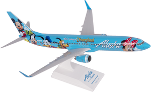 Alaska Airlines Model 1/130 scale Skymarks 737/900 Disney