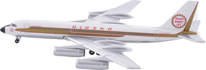 Alaska Airlines Model 1/400 scale Gemini Convair 990 Golden Nugget