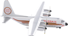 Alaska Airlines Model 1/400 scale Gemini Lockheed L-382B Golden Nugget image 1