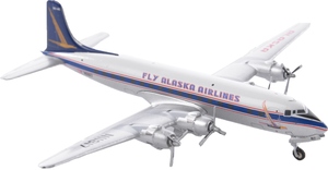 Alaska Airlines Model 1/400 scale Gemini Douglas DC-6 Fly Alaska Airlines