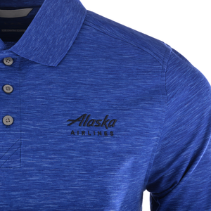 Alaska Airlines Polo Mens Cutter And Buck Adantage