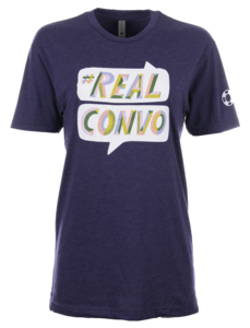 Unisex Illustrated #RealConvo Crewneck