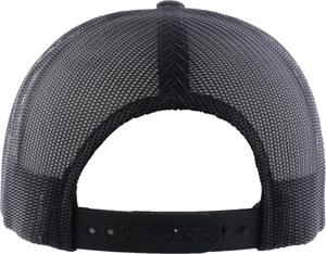 Black and Copper Huss Trucker Hat