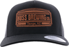 Black and Copper Huss Trucker Hat image 1
