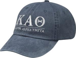Greek Letters Hat - kappa alpha theta