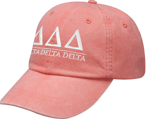 Greek Letters Hat - delta delta delta