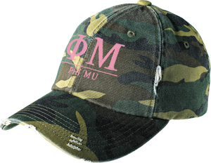 Greek Letters Hat - phi mu