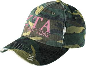 Greek Letters Hat - zeta tau alpha