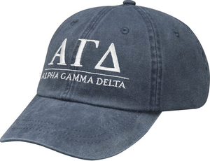 Greek Letters Hat - alpha gamma delta