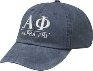 Greek Letters Hat - alpha phi